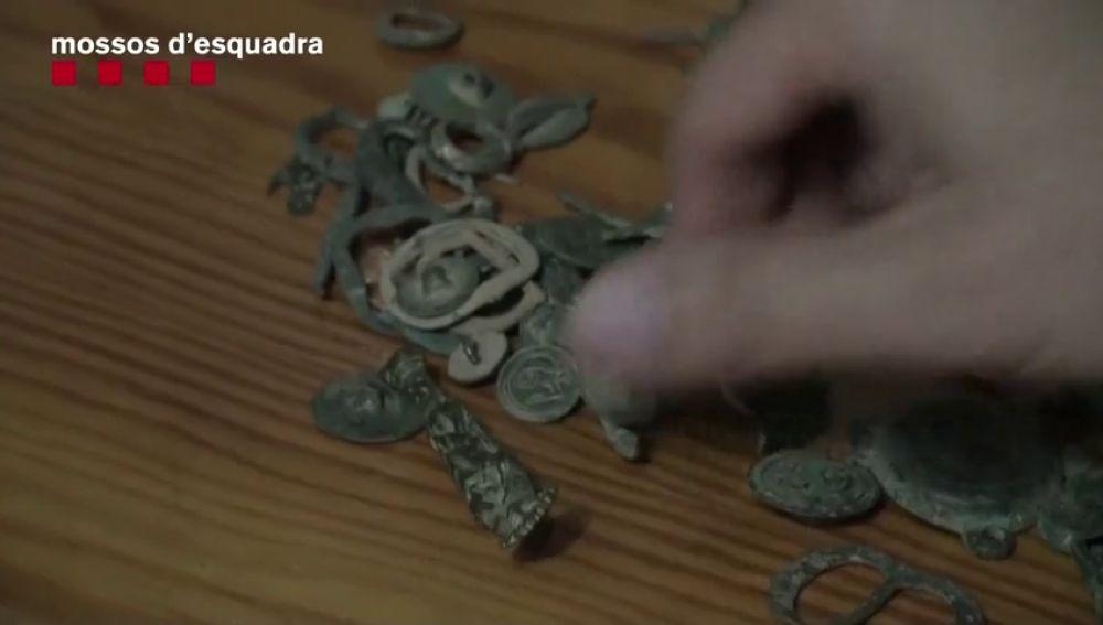 Tres detenidos por expoliar yacimientos del Alt y Baix Penedès