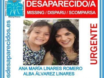 La mujer e hija están desaparecidas