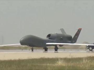 El dron militar más grande de Estados Unidos se estrella frente las costas de Cádiz