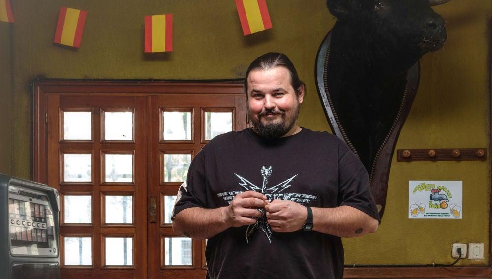 Iván Cózar es Nuño en 'Matadero'