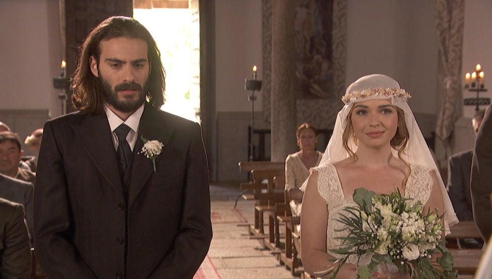Isaac y Antolina llegan al altar, ¿se darán el 'sí, quiero'?
