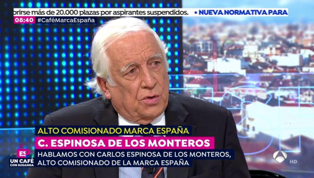 """Carlos Espinosa de los Monteros: """"Cada vez que hemos ido por el camino del déficit hemos acabado mal"""""""