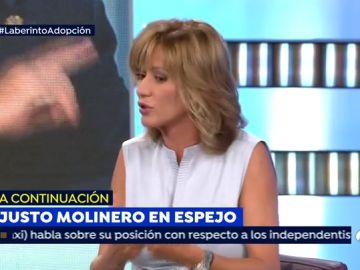 """La confesión de Susanna Griso: """"Conozco cargos de este Gobierno que han tenido que renunciar a una adopción"""""""