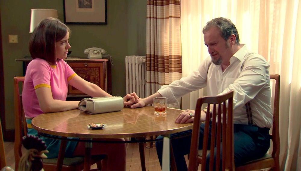 Laura descubre el lado más sensible y débil de Ernesto Ortega