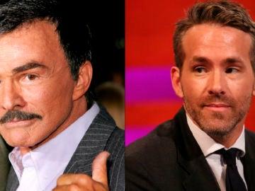 Burt Reynolds y Ryan Reynolds