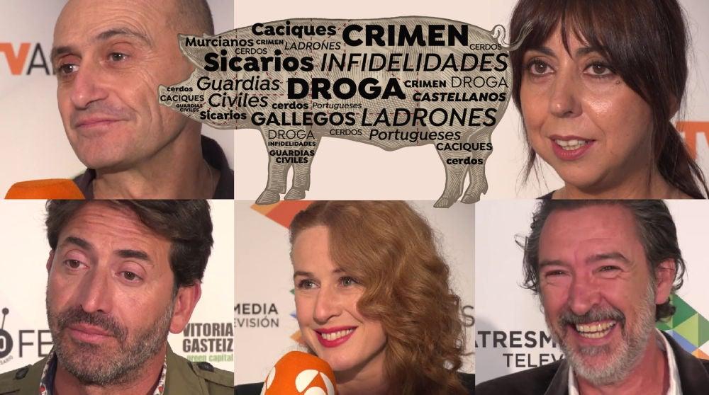 Los actores de 'Matadero' definen la serie en tres palabras
