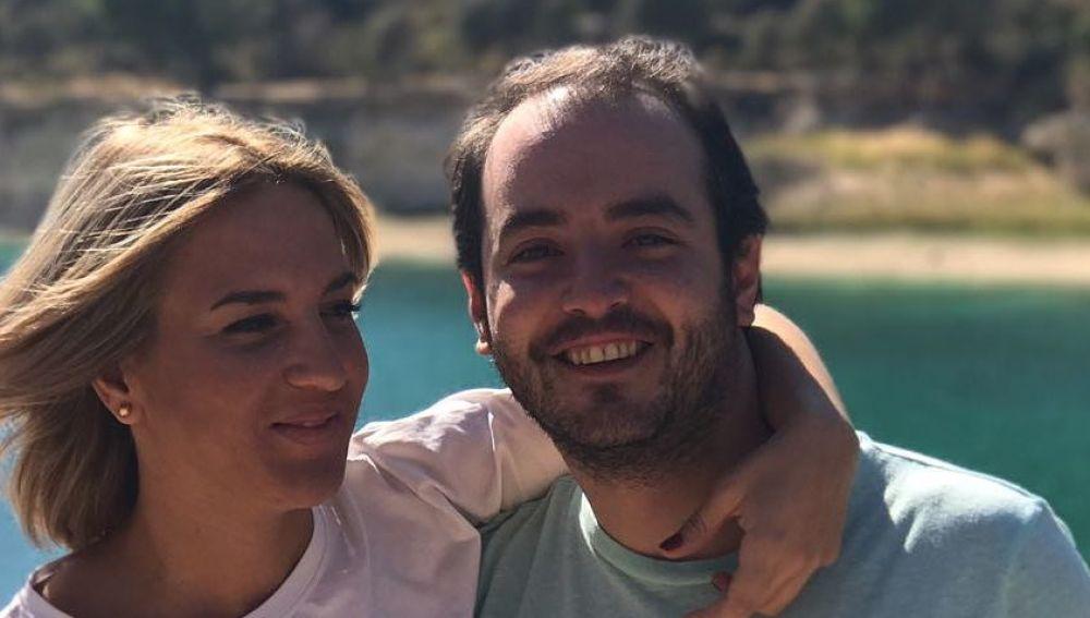 Aarón Guerrero y su mujer, Salomé Gadea