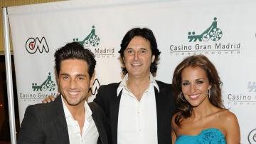David Bustamante, Poty y Paula Echevarría