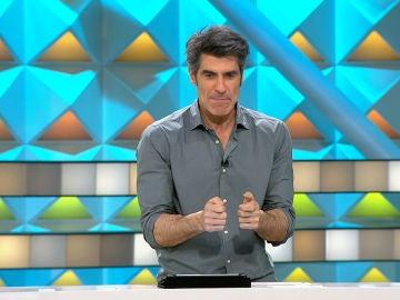 Jorge Fernández desvela una de sus contrañesas en 'La ruleta de la suerte'