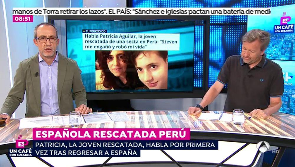 """Patricia Aguilar, la joven captada por una secta en Perú: """"Ha sido una pesadilla. Ha habido malos tratos, abusos y violaciones"""""""