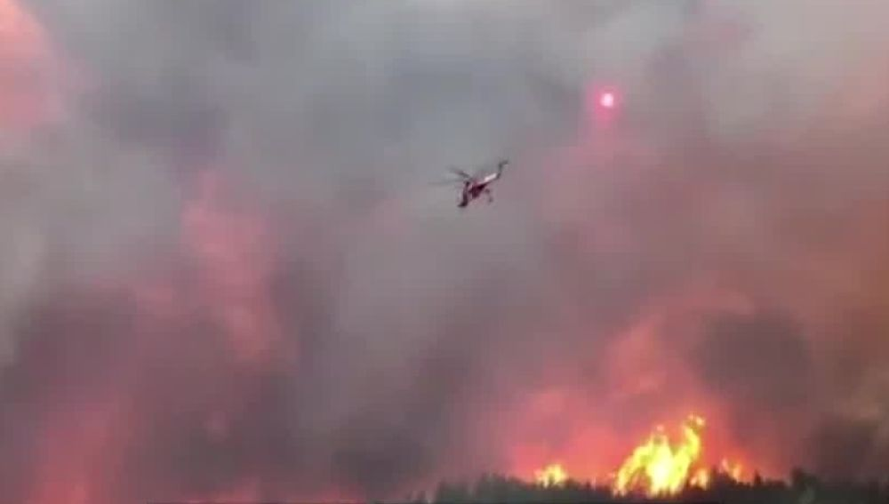Incendio 'Delta' en California