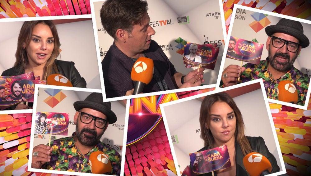José Corbacho, Chenoa y Carlos Latre hacen sus quinielas sobre la nueva temporada de 'Tu cara me suena'