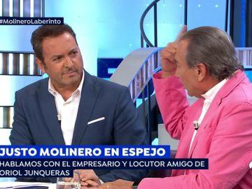 """Susanna Griso media en la bronca entre Albert Castillón y Justo Molinero: """"No le doy nada porque no se merece una mierda"""""""