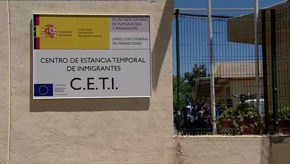 Centro de estancia temporal de inmigrantes