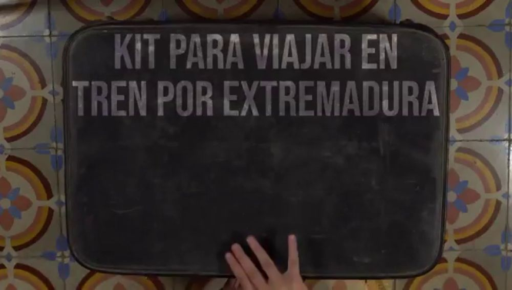 El 'Kit para viajar en tren por Extremadura', el vídeo en el que los extremeños reclaman un tren digno para la región