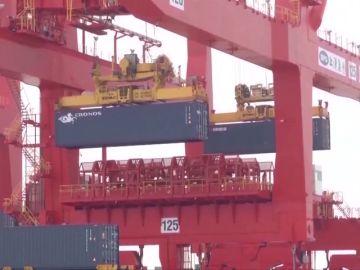 El comercio exterior de China aumenta un 9,1% entre enero y agosto