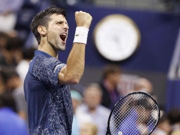 Djokovic derrota a Nishikori y jugará su octava final del Abierto de EE.UU. ante del Potro