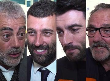 El equipo de 'Fariña, muy emocionado, se sincera sobre el éxito de la serie en el FesTVal de Vitoria