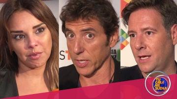 """Chenoa, Manel Fuentes y Carlos Latre, expectantes y """"sin red"""" a las puertas del estreno de 'Tu cara me suena 7'"""