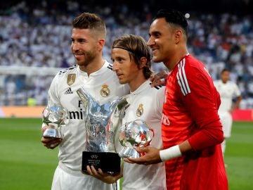 Ramos muestra su apoyo a su amigo y compañero Modric