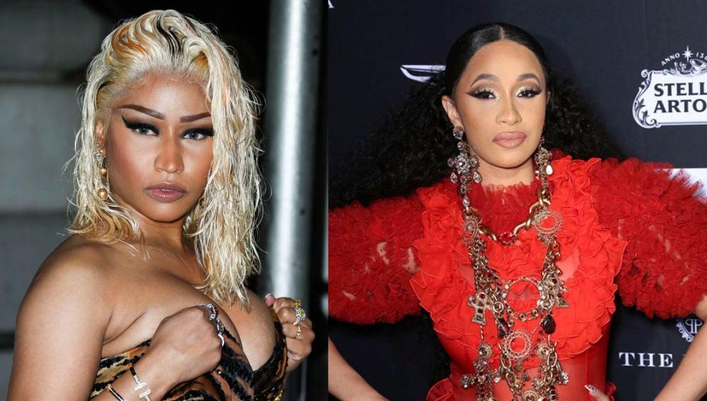 Nicki Minaj y Cardi B