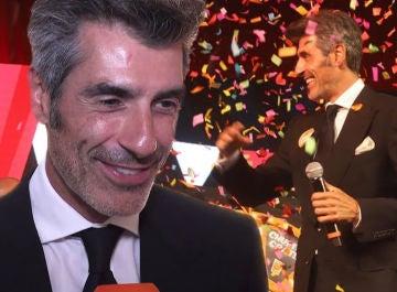 """Jorge Fernández, premio Mainat en FesTVal en Vitoria: """"Es un honor llevar 12 años al frente de 'La ruleta de la suerte'"""""""