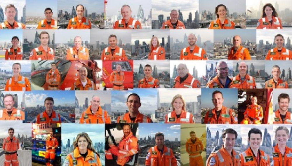 servicios de emergencias de Reino Unido