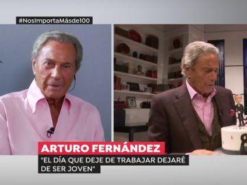 """Arturo Fernández: """"El día que deje trabajar dejaré de ser joven"""""""