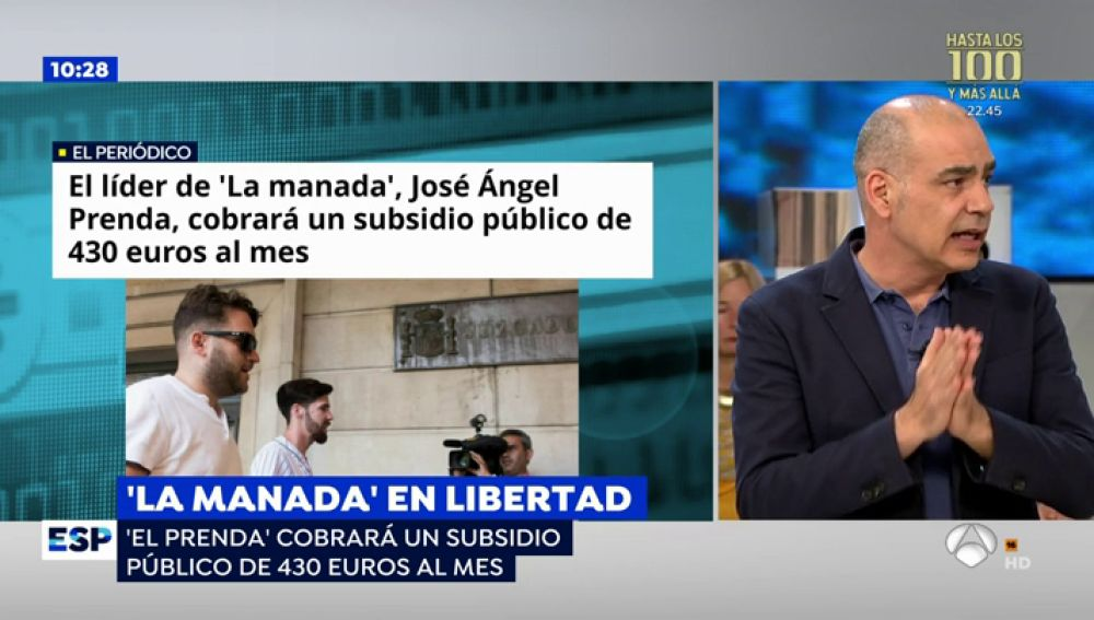 Conceden al líder de 'La Manada', 'El Prenda', un subsidio público de 430 euros