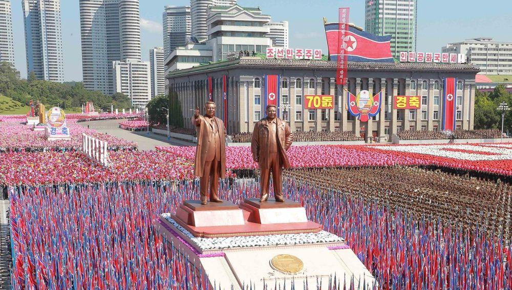 Imagen de la celebración de Corea