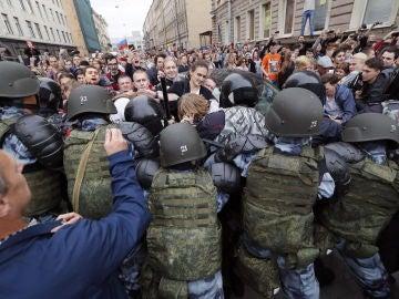 Protestas Rusia