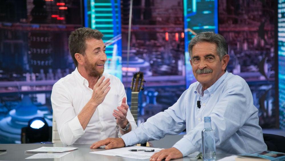 Miguel Ángel Revilla no perdona a Pablo Motos que inaugurase su cuenta de Instagram sin él
