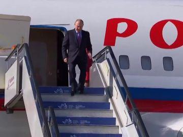Putin llega a Vladivostok para participar en el Foro Económico Oriental