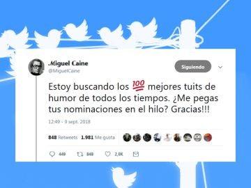 Los mejores tuits según @miguelcaine