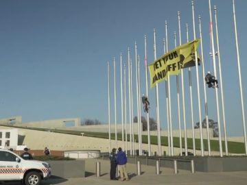 Greenpeace se manifiesta contra la industria del carbón en Australia