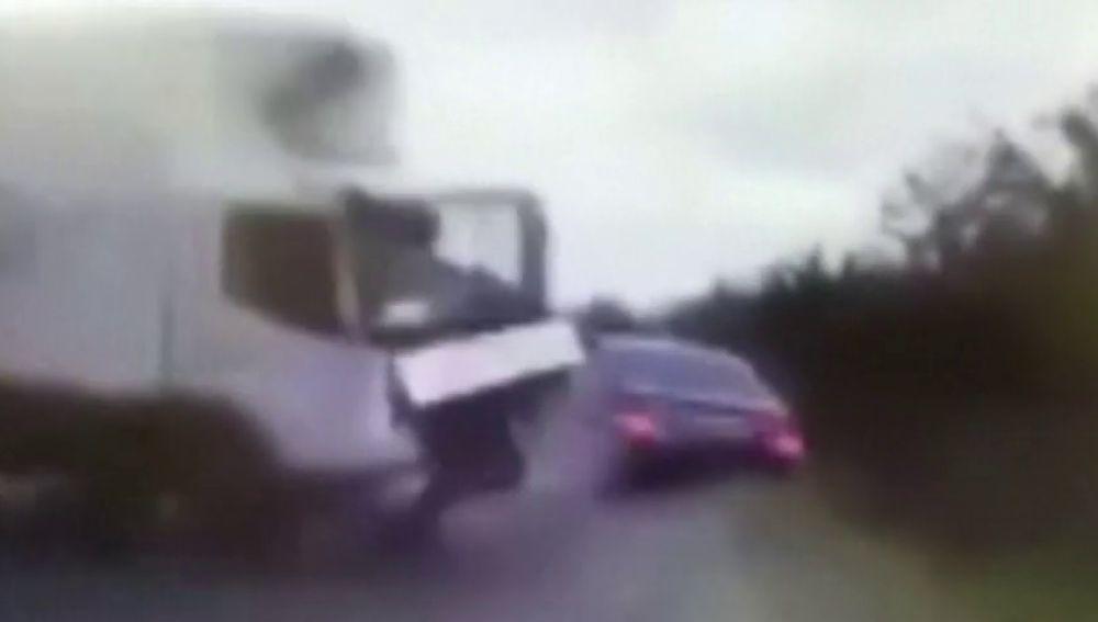 Herido leve el presidente de Moldavia en un accidente de tráfico