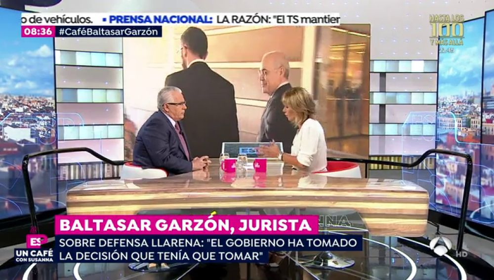 Entrevista completa al juez Baltasar Garzón en Espejo Público