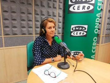 María Dolores de Cospedal en el estudio de Onda Cero Toledo