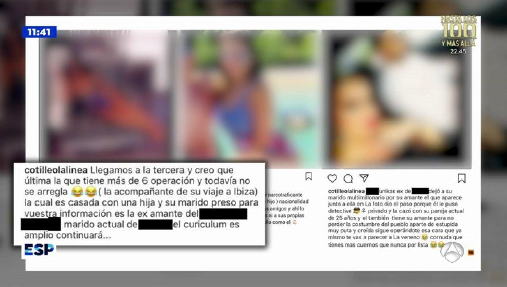 Las orgías de los narcos de El Estrecho quedan al descubierto en Instagram por un anónimo al que buscan para vengarse