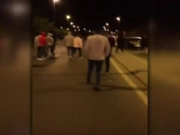 Dos agentes heridos al dispersar una pelea entre bandas latinas en la Carpa Joven de Arganda del Rey