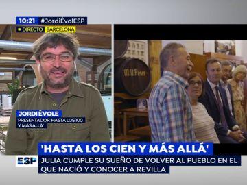 """Jordi Évole, sobre el especial 'Hasta los cien y más allá': """"Es de esas historias que enamoran"""""""