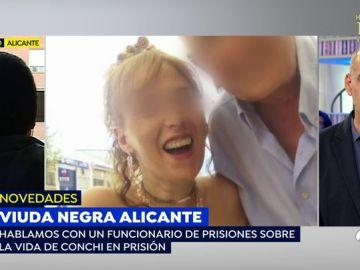 La 'viuda negra 'de Alicante hace ejercicio en el gimnasio de la cárcel de Foncalent a pesar de su minusvalía