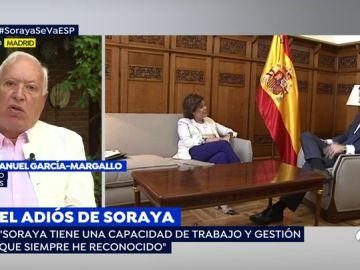 """García- Margallo: """"Soraya Sáenz de Santamaría hubiese sido una magnífica alcaldesa de Madrid"""""""