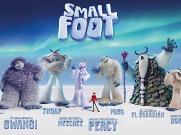 Los personajes de 'Smallfoot'