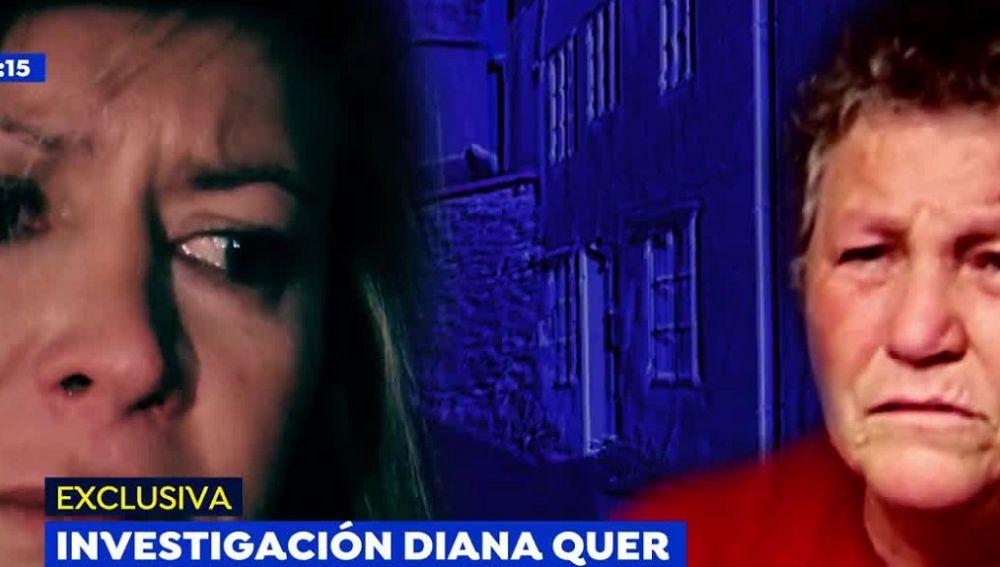 Diana López Pinel, madre de Diana Quer, y Margarita madre de El Chicle