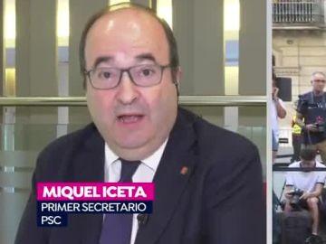 Miquel Iceta en Espejo Público