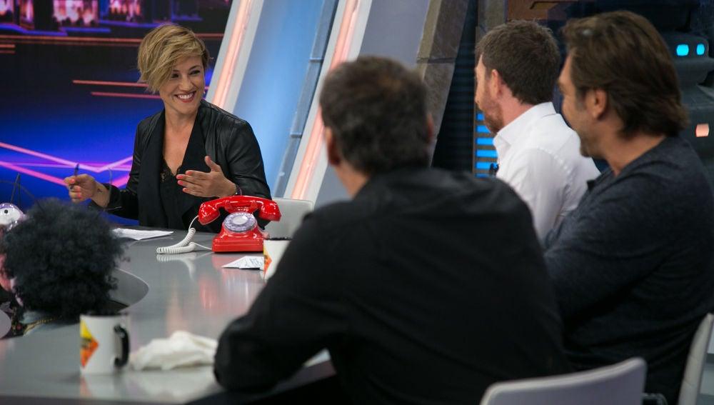 Cristina Pardo repasa las mejores actuaciones de los políticos españoles en 'El Hormiguero 3.0'