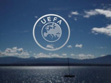 El logo de la UEFA