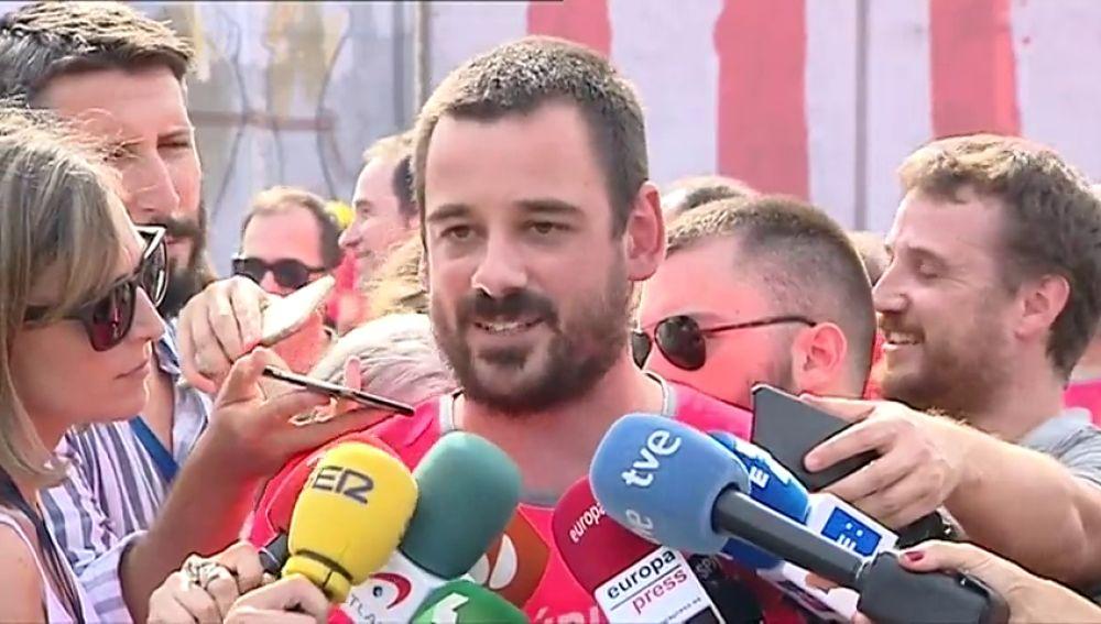 """La CUP pide que la Diada sea el """"inicio de una ola de movilizaciones hacia la libertad del pueblo catalán"""""""