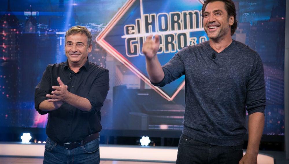 La entrevista completa de Javier Bardem y Eduard Fernández en 'El Hormiguero 3.0'